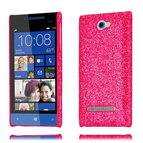 Glitter (Pinkki) HTC 8S Suojakuori - http://lux-case.fi/glitter-pinkki-htc-8s-suojakuori-20373.html