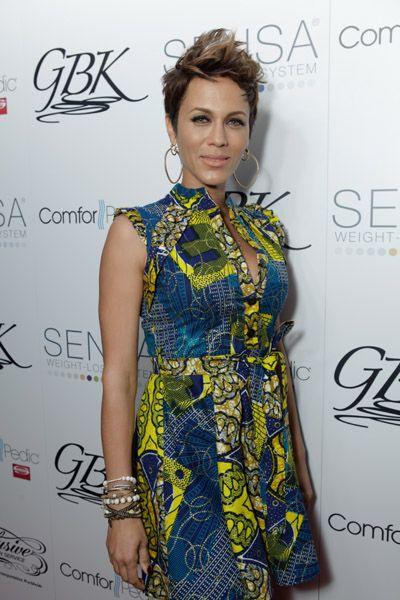 Nigeria Women Latest Clothes | Africa Style NOW: Nicole Ari Parker Wears Kiki Ankara Shirt Dress at ...
