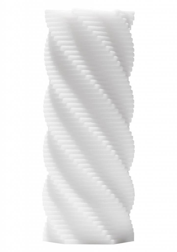 Tenga 3D Spiral white masturbator | misswalker.nl