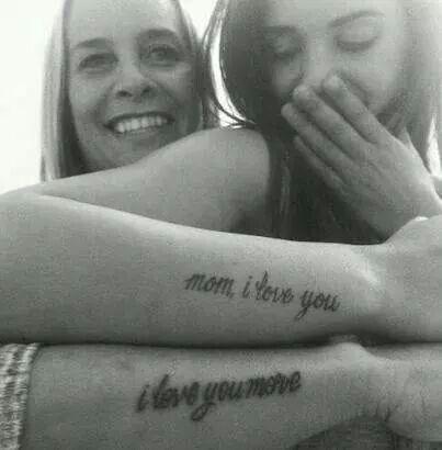 Mother/Daughter Tattooos
