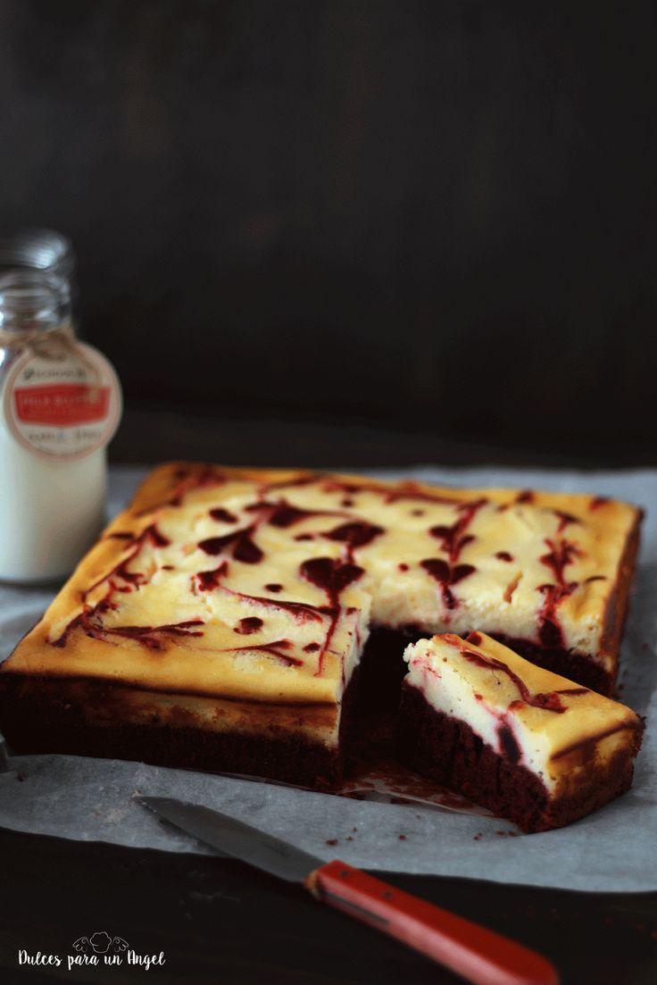 Dulces para un Angel: Red velvet- cheesecake