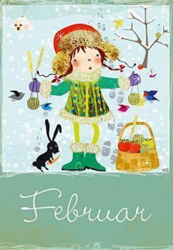 Postkarte Elisandra Februar 5262