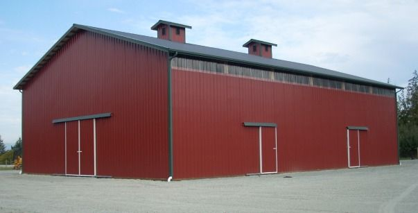 A Storage Building Of Epic Proportions On Camano Island, WA. Constructed By  Spane Buildings