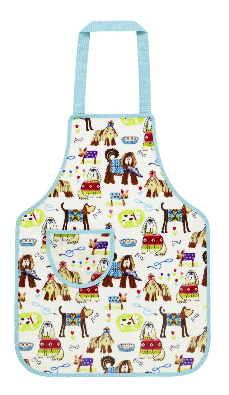 Who wants to go walkies?! We love this cute Walkies apron. Perfect for keeping kids clean when they are in the kitchen