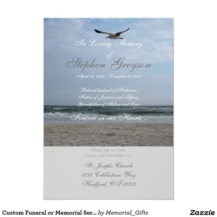 100 best Celebration of life Invitations images on Pinterest - memorial service invitation wording
