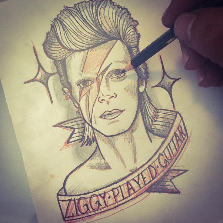 david bowie tattoo | Tumblr