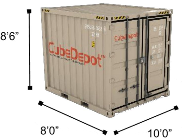 Shipping Containers for Sale - CubeDepot                                                                                                                                                     Más