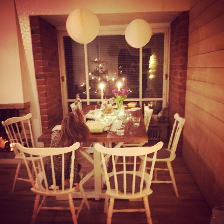 Hus matbord Trä