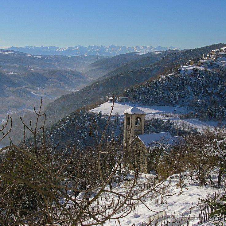 Chiesa di San Frontiniano ad #Arguello (Cn) - Info su storia, arte, liturgia e devozione sul sito web del progetto #cittaecattedrali
