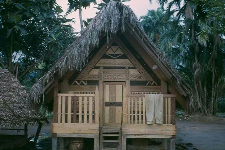 Saramaccaanse hut, 1964/1965
