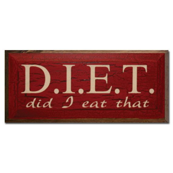 DIET- Did I Eat That