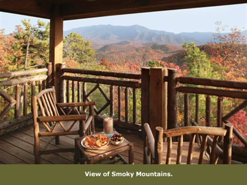Styleblueprint BBLRoomBalcony 091513 Camp For Adults: The Lodge At  Buckberry Creek. Find This Pin And More On Smoky Mountain Getaway ...