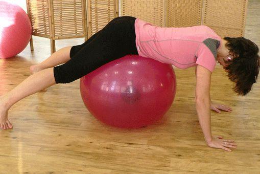 Posilování hlubokých zádových svalů s PendyBall