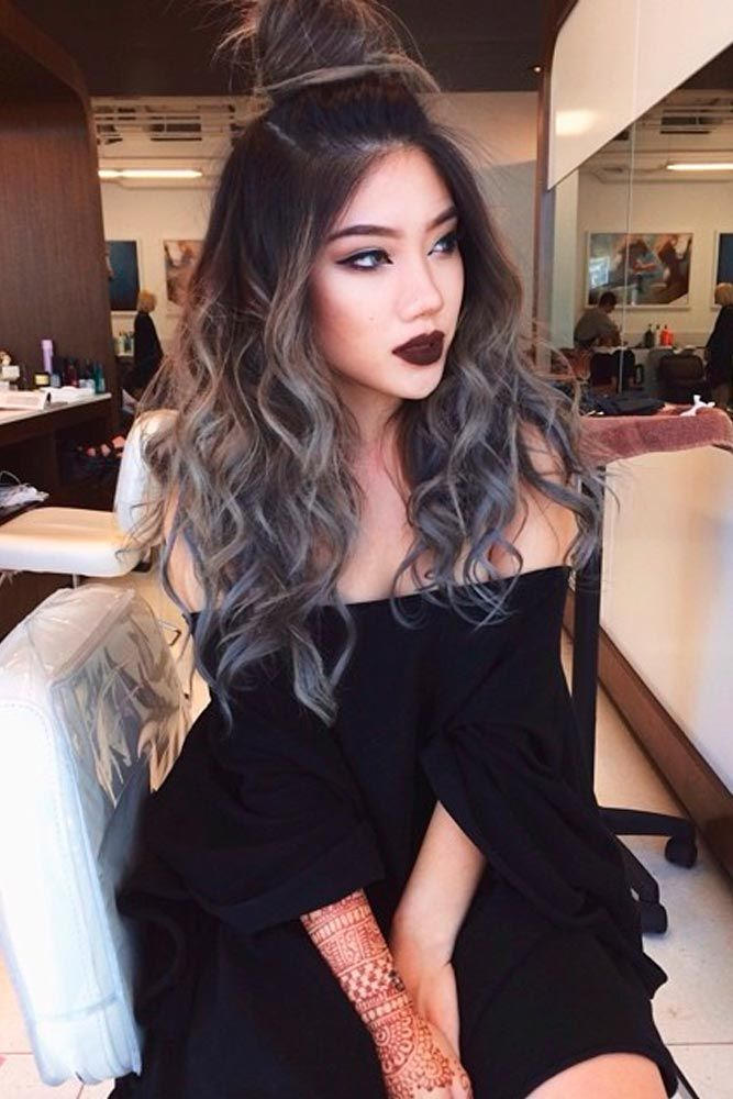 how to get grey ombre hair