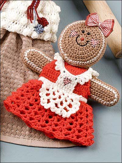 Gingerbread Doll - free download crochet pattern