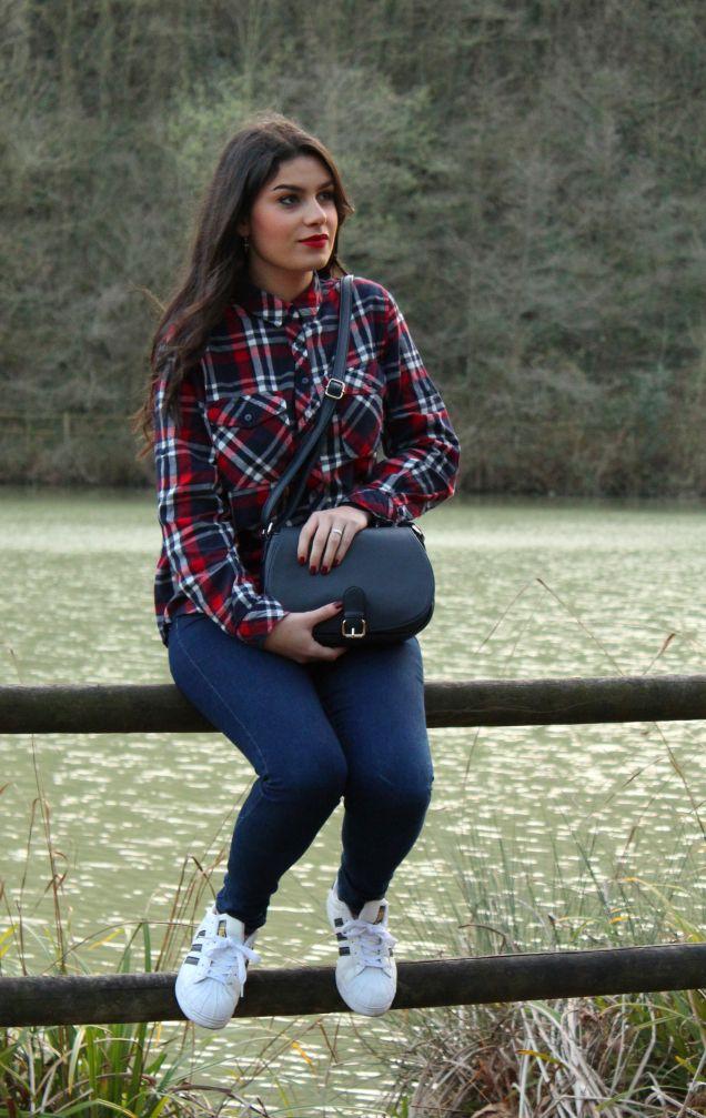 #kissmylook Camisa de cuadros || PlaidShirt