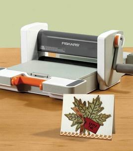 Happy Fall #card -- made with the @Fiskars USA Fuse Creativity System :)