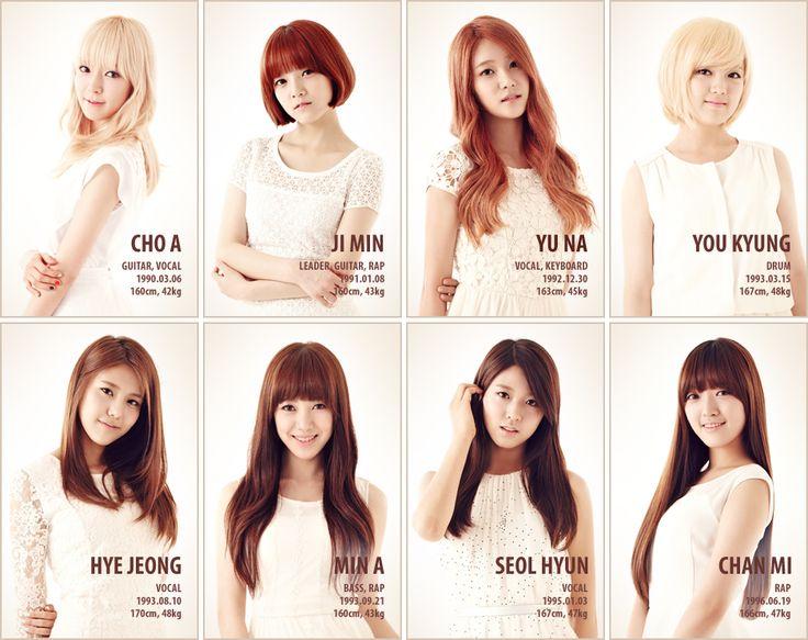 Aoa Short Hair Buscar Con Google Grupos Coreanos