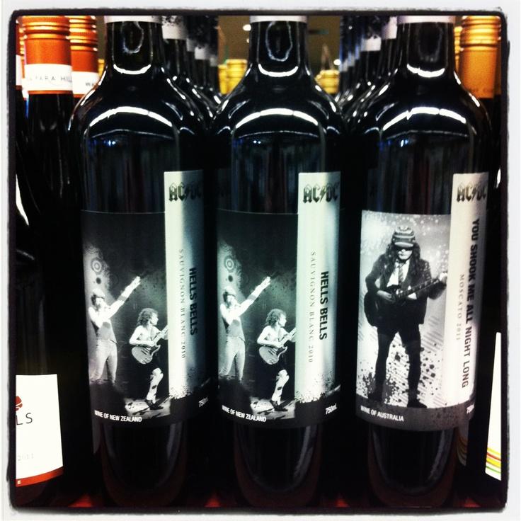 AC/DC wine?