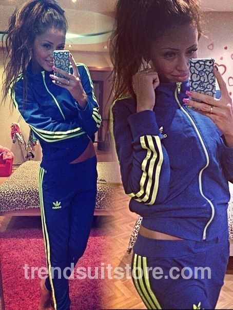 Adidas Tracksuit For Girls Blue