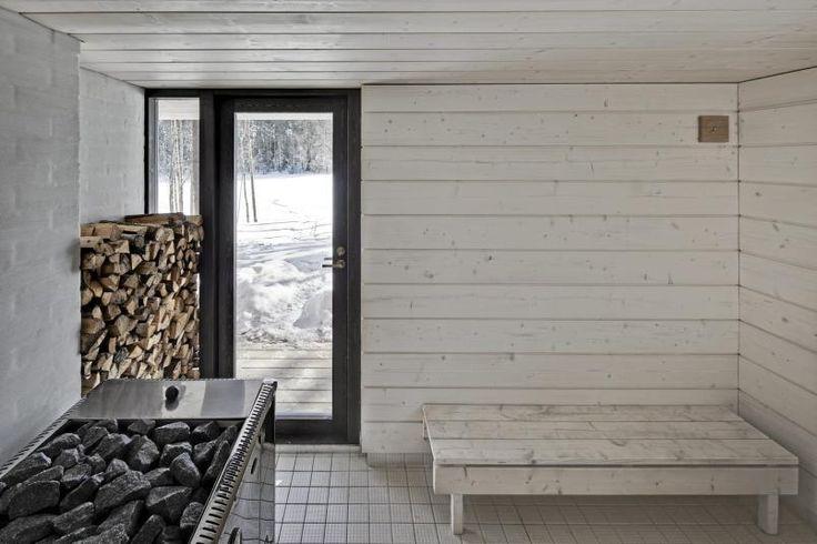 sauna in my basement