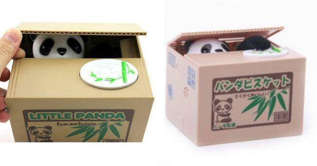 [TOPITRUC] Une tirelire panda qui vole ton argent pour ceux qui veulent économiser facilement