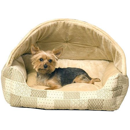 K H Manufacturing Lounge Sleeper Hooded Pet Bed 20 X 25 Pet Bed Orthopedic Pet Bed Dog Bed