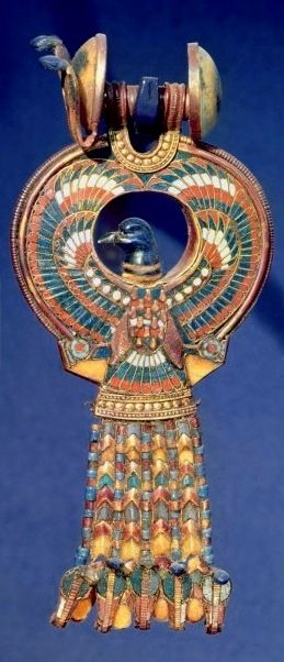 Tutanchamuns Enten- bzw. Gänse-Ohrringe
