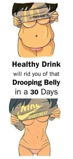 This Healthy Drink will rid you of that drooping belly in a 30 Days