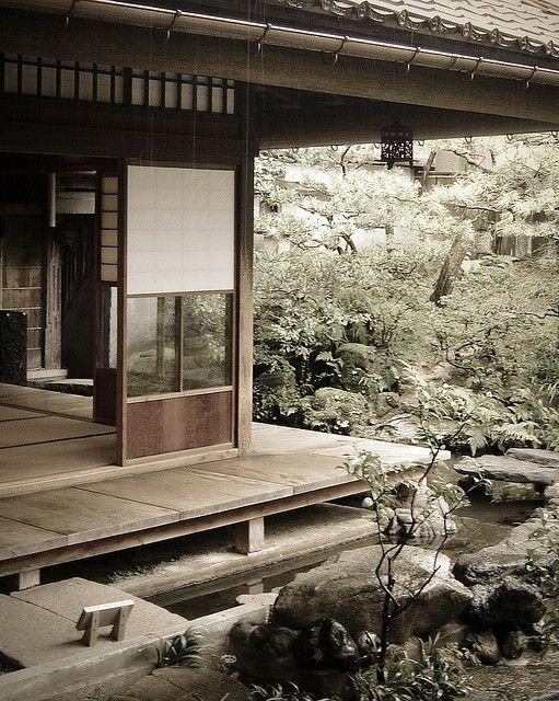 Traditional Japanese architecture and garden | Nomura House in Kanazawa, Japan