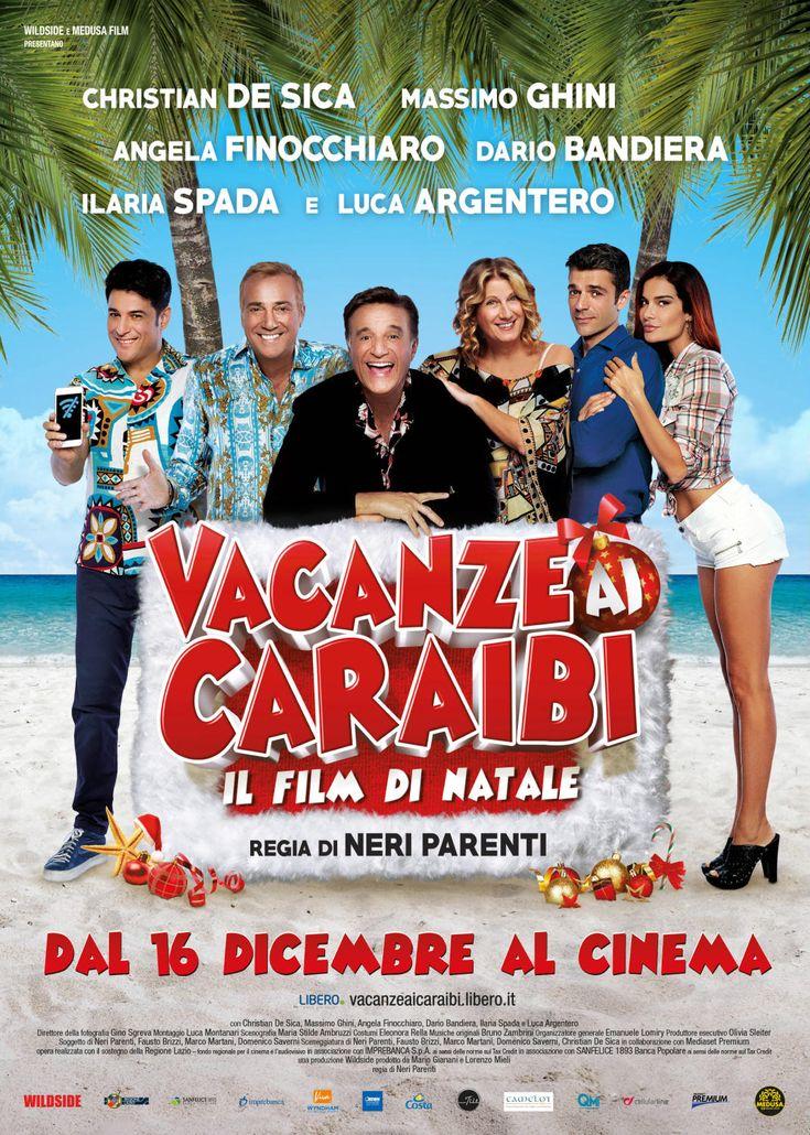 Vacanze ai Caraibi - Il film di Natale con Christian de Sica, Massimo Ghini e Luca Argentero, dal 16 dicembre al cinema.