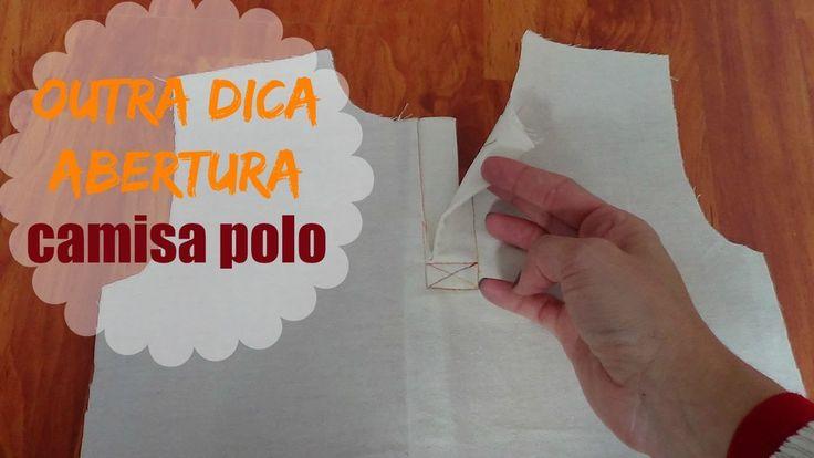 VEDA #28 Outra técnica de abertura Camisa Polo | ModaByNill