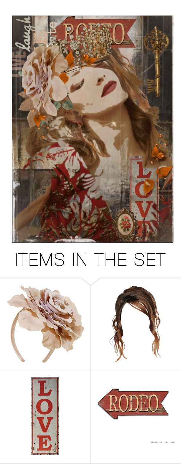 """""""Rodeo Queen"""" by tattered-rose ❤ liked on Polyvore featuring art"""