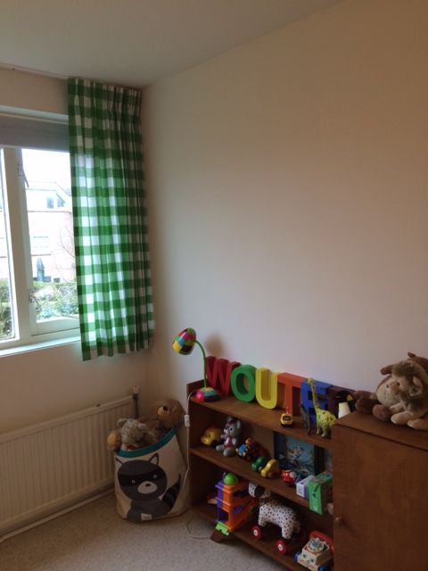 ruit gordijnen stoftype 300 50 # gordijnen # curtains # kinderkamer ...