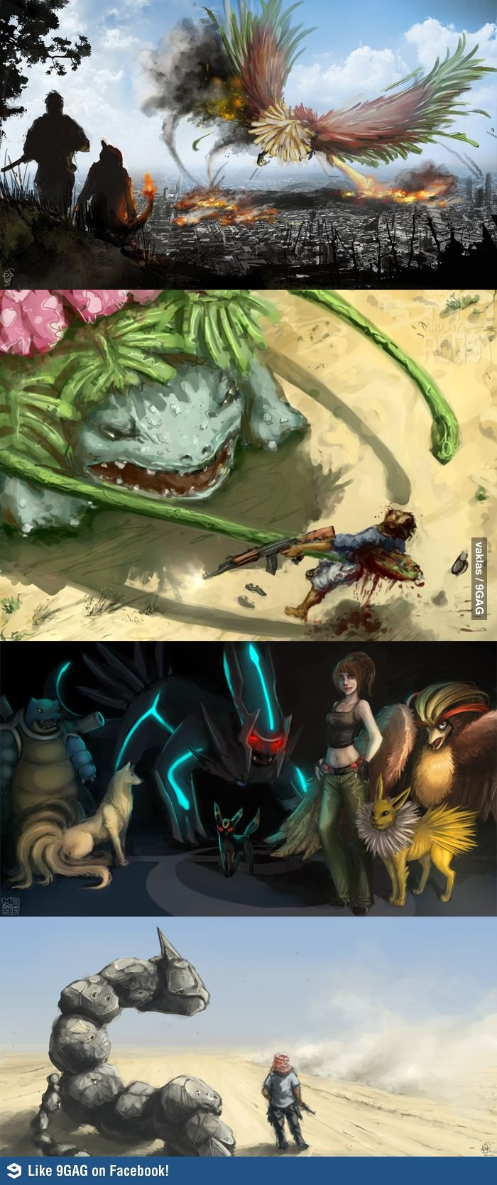Pokemon could be used for the purpose of good or evil in this world...which will you choose?