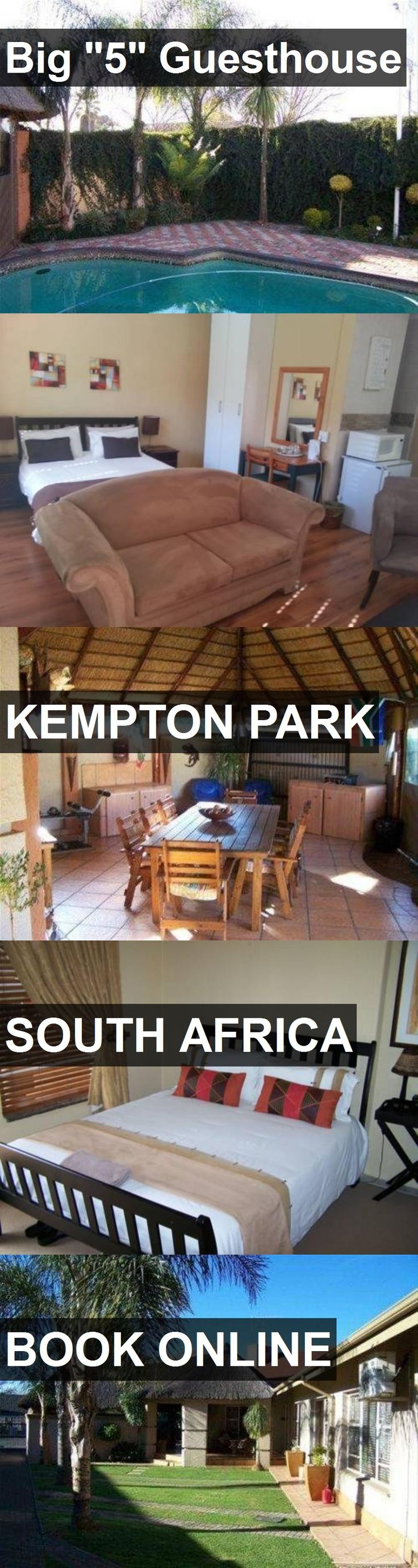 "Hotel Big ""5"" Guesthouse in Kempton Park, South Africa. For more information, photos, reviews and best prices please follow the link. #SouthAfrica #KemptonPark #Big""5""Guesthouse #hotel #travel #vacation"