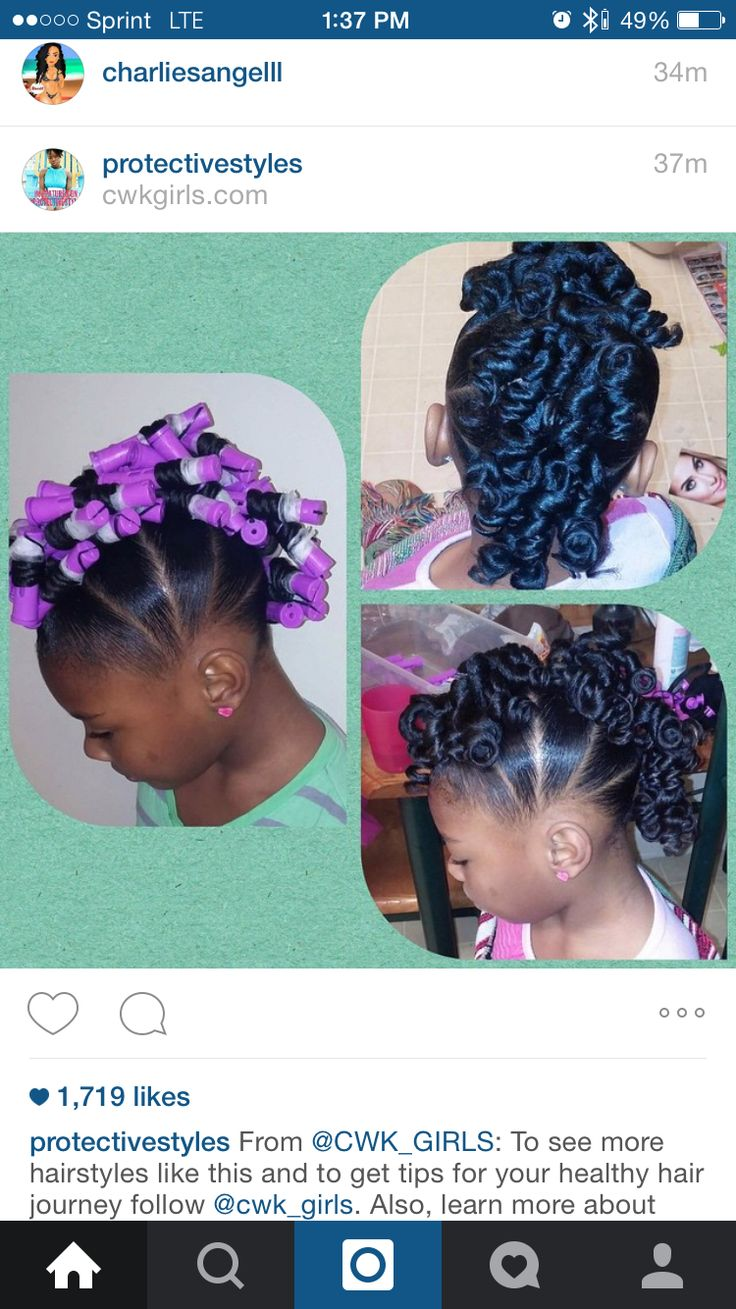 This is cute. I did this style on my baby girl.