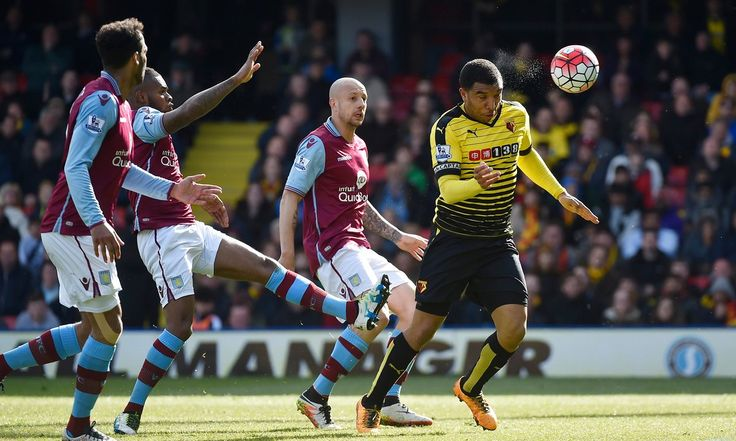 Troy Deeney grabbed two late goals to condemn Aston Villa to a club-record 11th straight defeat as Watford came from behind to win 3-2 at Vicarage Road