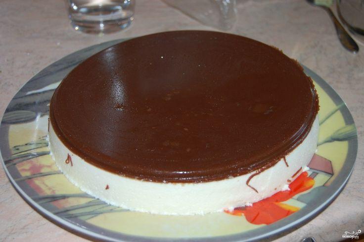 Торт птичье молоко со сгущёнкой