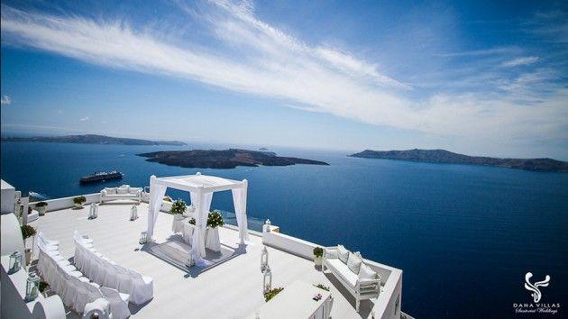 Dana Villas | Santorini Wedding Hotels
