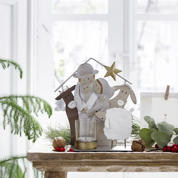 Nacimiento | ¡Ya huele a Navidad! ¿En tu casa aún no? Con una preciosa selección de artículos navideños Kenay Home te ayuda a empezar con la decoración de tu hogar.  #kenayhome #kenay #home #navidad #decoración #decor #decoration #christmas #xmas #merrychristmas #white #blanco #whiteinterior #interior #design #hohoho #feliznavidad #scandi #nordik #nacimiento #Belén #madera #rustic #wood #metal #star #nature #natural #boho #like #sweet #happy #love #family