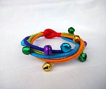 Colorful Bracelet with Colorful  Ghungroo