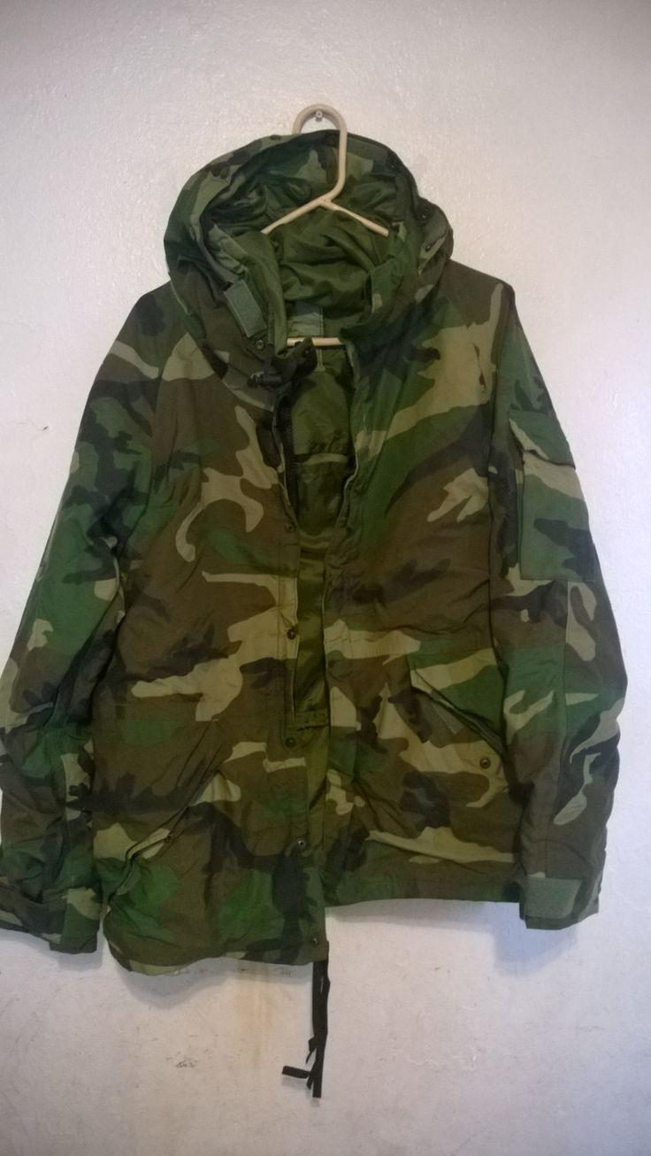 Flash Sale Hooded Camo Jacket Parka Vinatge f1XVuRd