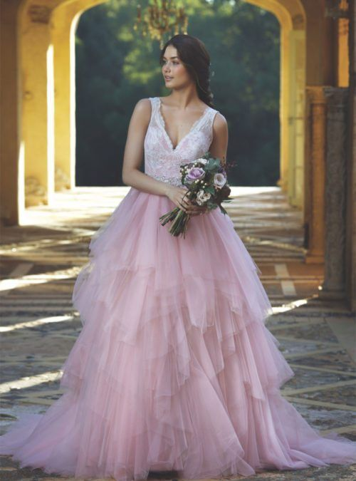 M1647Z-CHANNING-MIA-SOLANO-NONWHITE-WEDDING-DRESS-PRINCESS-FAIRYTALE-PINK-GOWN-LACE-LUV-BRIDALT