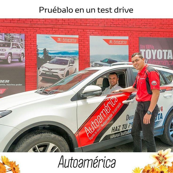 Comienza a visualizar tu carro ahora, para que esté contigo en el futuro. Ven a #Autoamérica y conoce la #Toyota #Rav4 que quieres en una prueba de ruta. Llámanos al 444 11 21 y ¡pide tu cita! https://goo.gl/Edvhnc