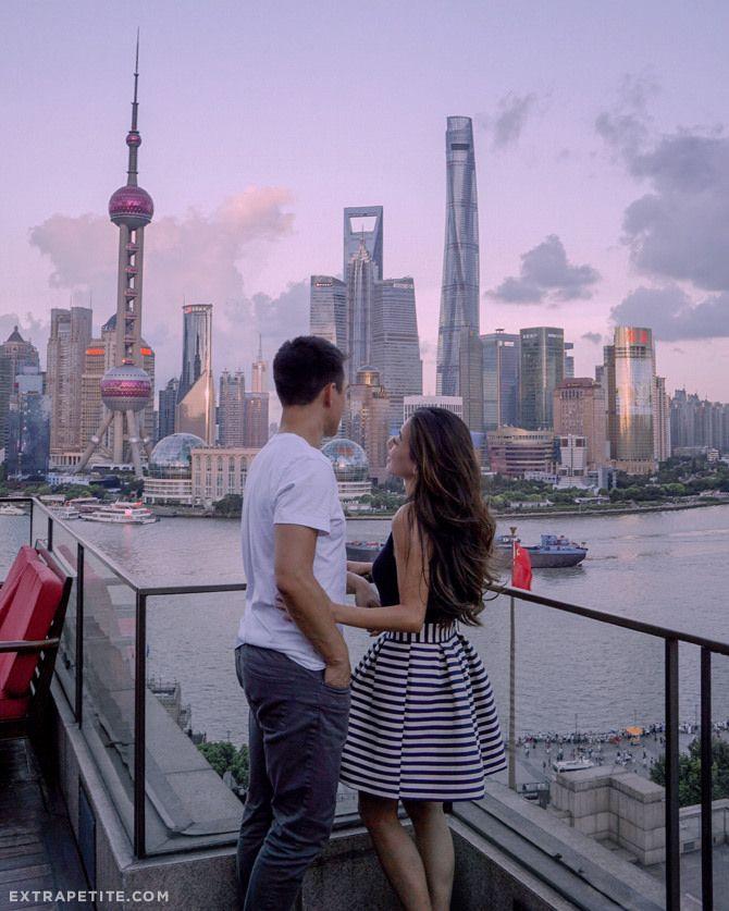 Shanghai with Lancôme