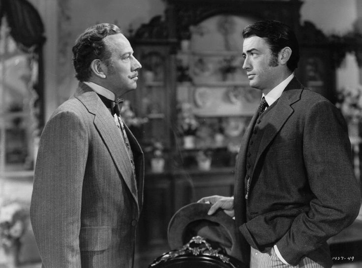 Gregory Peck and Melvyn Douglas in The Great Sinner (1949)