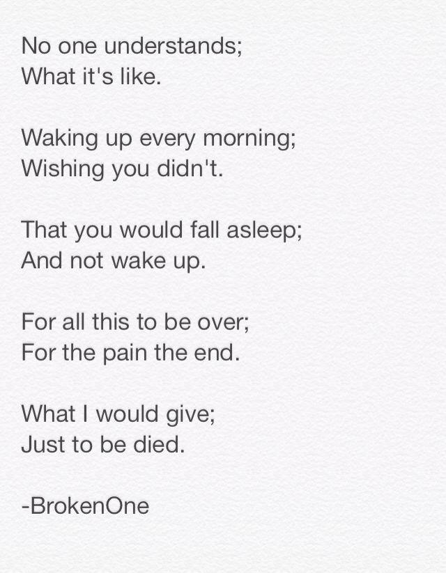 Blonde spoken word poetry