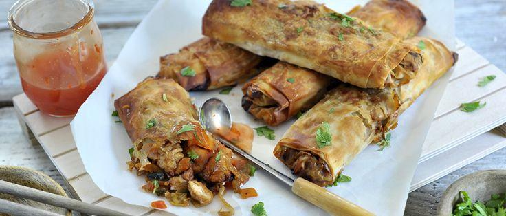 In Aziatische landen is de Airfryer ook razend populair; voor het bakken van loempia's, nagenoeg zonder vet! Gebruik dit recept als basis en varieer eindeloos met groenten en vlees of vis.