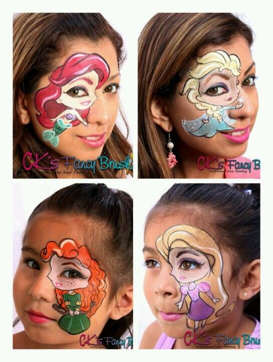 Princes s face paint